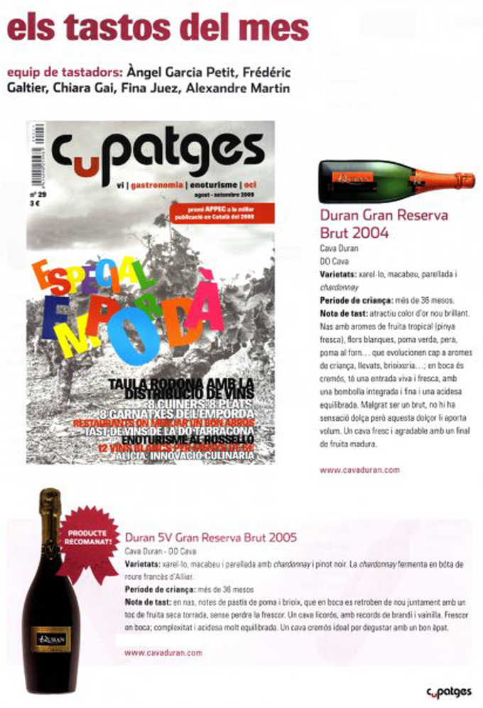 Cupatges - Agosto 2009