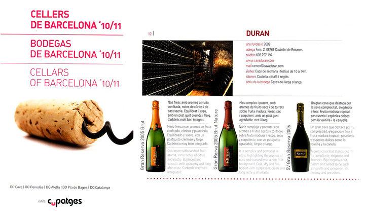 Barcelona Cellars - 2010-2011