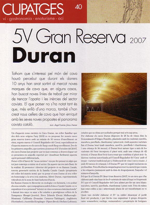 Cupatges - Duran 5V - Junio 2011 - 1