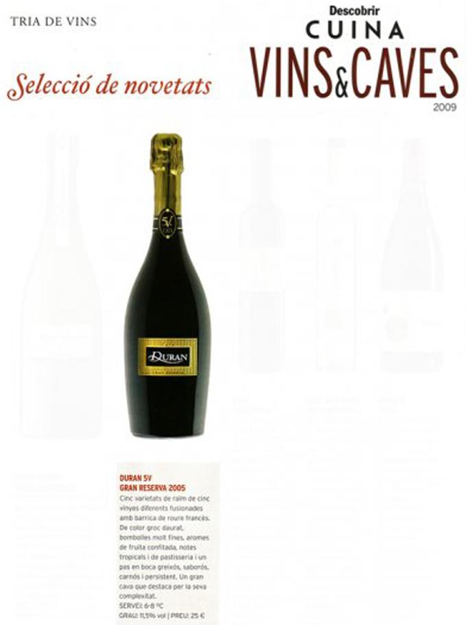 Descobrir Cuina - Duran 5V Gran Reserva