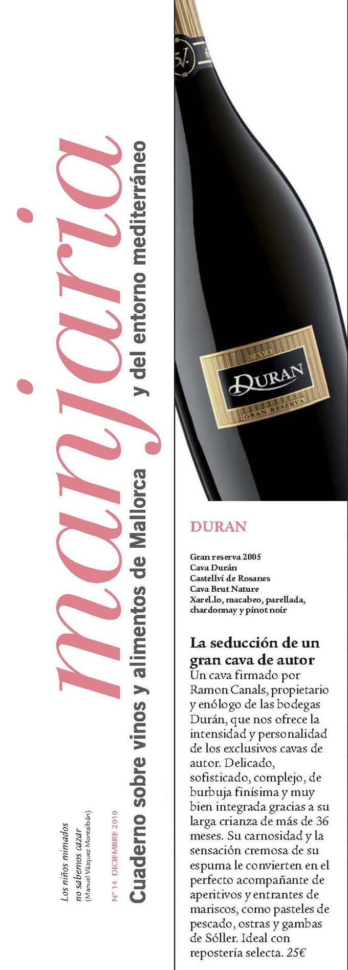 Menjaria - Mallorca - Duran 5V Gran Reserva