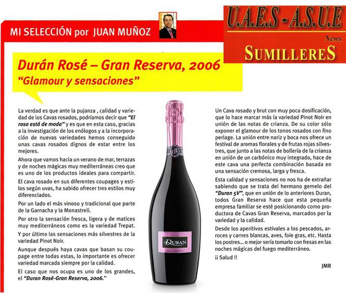 UAES - Duran Rosé Gran Reserva