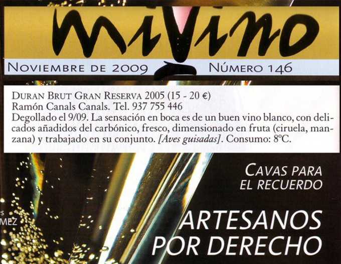 Mi Vino - Noviembre 2009